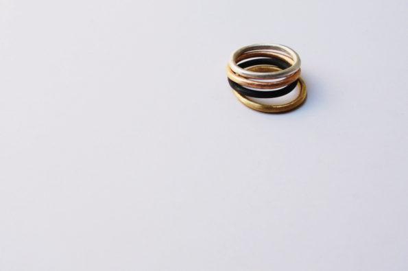 Bagel ring 9K