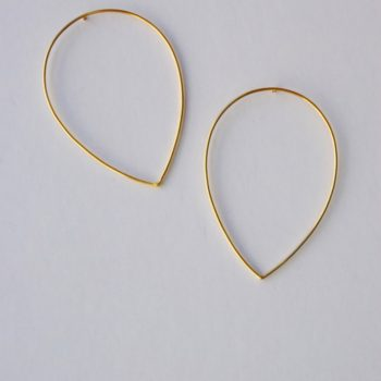 Teardrop earrings1
